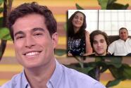 """""""Me encanta verlos"""": Danilo Carrera no esperaba esta sorpresa con su familia desde Ecuador"""
