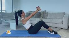 Fortalece tus brazos desde casa con esta rutina de ejercicios