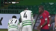 ¡GOOOL! Christopher Jullien anota para Celtic.