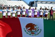 Bradenton, Florida, 10 de noviembre de 2018. ,durante el partido de la primera fase del Grupo B del Premundial Sub20 organizado por la CONCACAF, entre la selecciones de México y Aruba, celebrado en la Academia IMG. Foto: Imago7/Eloisa Sanchez