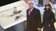 ¿Por qué Donald y Melania Trump se vacunaron en secreto antes de irse de la Casa Blanca?