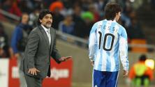 Maradona aconseja a Messi dejar la selección y explota contra Scaloni