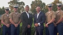 """""""Es un honor darles apoyo"""": así es como este Ángel del 41 ayuda a veteranos del ejército en Nueva Jersey"""