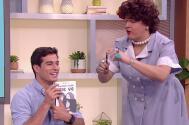 Danilo Carrera se puso coqueto cuando se reencontró en Despierta América con Meche ¿Renaud?