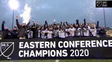 Columbus Crew SC levanta el trofeo de campeón de la Conferencia Este