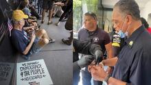 Arrestan al líder social Jesse Jackson y 33 personas más durante una protesta en Phoenix