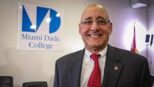 Rolando Montoya es elegido presidente interino del Miami Dade College