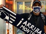'Chupete' Suazo llega a Monterrey para jugar con Raya2 y afirma será un líder