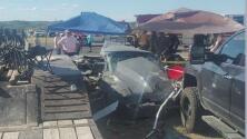 Dos niños mueren tras un accidente registrado en una carrera de autos en Kerville, Texas
