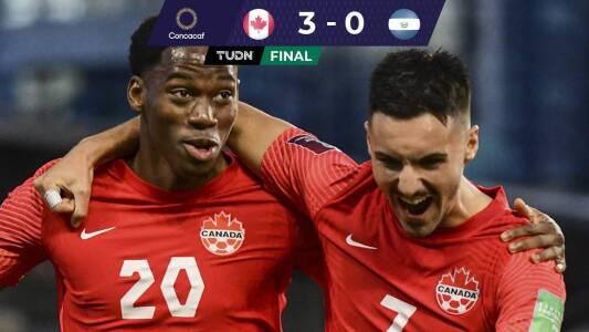 Canadá golea a El Salvador y mejora su panorama rumbo a Qatar 2022