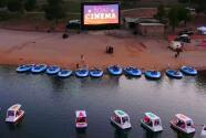 Bienvenidos a 'Boat Cinema': esta es la nueva y divertida manera de ir al cine en Los Ángeles