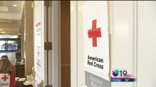 Cruz Roja: La salvación de la gente en Napa