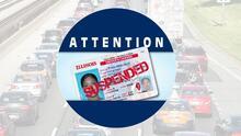 ¿Cuáles son los motivos de suspensión de licencia de conducir en Illinois?
