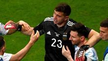 """Martínez sobre Messi: """"Queríamos darle un título al mejor del mundo"""""""