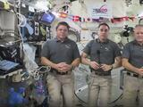 Regresando a una Tierra en pandemia: astronautas vuelven a casa luego de seis meses en el espacio