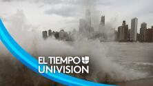 Vientos y oleaje peligroso: así se ve el Lago Míchigan en Chicago el primer día de otoño del 2021