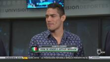 Gilberto 'Zurdo' Ramírez listo para la pelea ante Dominik Britsch