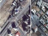 El antes y el después de los ataques al sur de Israel y la ciudad de Gaza (imágenes interactivas)
