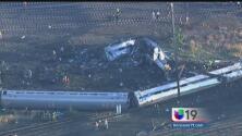 Trágico accidente ferroviario en Filadelfia