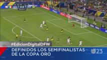 Quedan definidos los semifinalistas de la Copa Oro