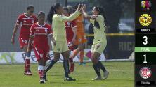 El campeón se impone: con estos goles América venció 3 -1 a Toluca en Liga MX Femenil