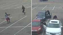 Hieren de bala a una mujer embarazada cuando salía de una iglesia en Dallas
