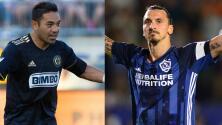 Marco Fabián busca el liderato de la MLS y Zlatan viaja a Seattle con su L.A. Galaxy