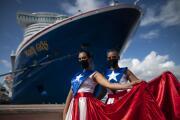 Puerto Rico recibe el primer crucero desde el inicio de la pandemia