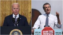 Elección revocatoria en California: Biden visita Long Beach este lunes en apoyo al gobernador Newsom