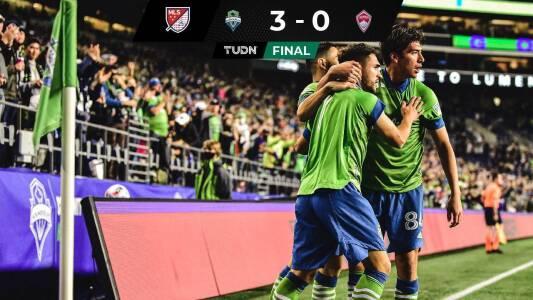 El gol celestial de Joao Paulo y todo el resumen del Seattle vs Colorado