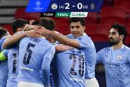 Manchester City fulminó al Borussia M'Gladbach y está en Cuartos de Final