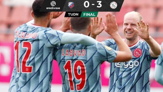 Golea Ajax en su visita al Utrecht y se mantiene firme en la cima de la Eredivisie