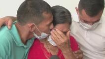 El emotivo reencuentro entre un indigente y su familia tras 15 años