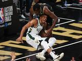 Giannis Antetokounmpo es descartado del Juego 5 entre Bucks y Hawks