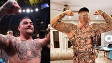 Andy Ruiz Jr. se tatuó hasta el trasero: Conoce su controversial diseño