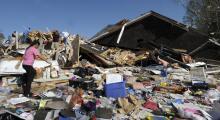 Las imágenes de la peor oleada de tornados que dejaron 24 muertos en 2011 en Carolina del Norte