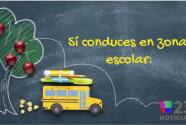 Consejos para conductores en las zonas escolares ante el regreso a clases