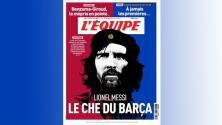 """L'Equipe: """"Messi, el Ché Guevara del Barcelona"""""""