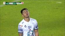¡TIRO ATAJADO! disparo por Víctor Guzmán.