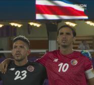 ¡Pasión y orgullo! Retumba el himno de Costa Rica en Orlando