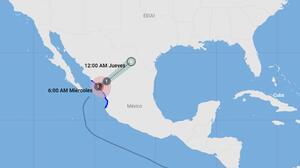Huracán Pamela toca tierra en Sinaloa, México, con vientos de 75 mph