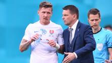 El entrenador de Eslovaquia ve a una España presionada