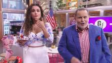 Clarissa rompió la dieta para probar un hot dog estilo dominicano, pero Raúl no le creyó