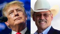 Trump respalda a Mark Finchem a la secretaria de estado de Arizona