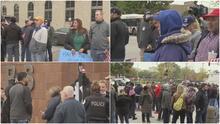 """""""Estamos en la lucha"""": continúa la tensión entre la ciudad de Chicago y policías por el mandato de vacunación"""