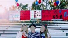 Polémica por los carteles antiinmigrantes en un partido de fútbol entre secundarias de California