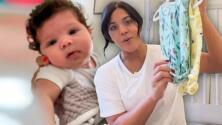 Francisca mostró lo que hace con la ropita que ya no le queda a Baby Gennaro: ¡ya tiene 3 meses!