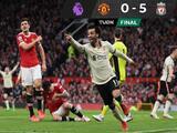 Humillación en Old Trafford, Liverpool goleó al Manchester United