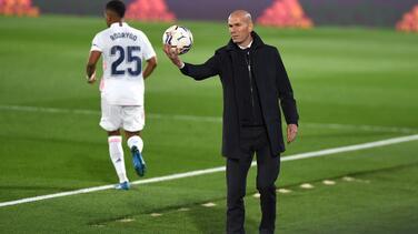 Zidane: No digo que ganaremos el título pero haremos lo posible