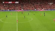 Dinamarca sigue sorprendiendo y Wass ya hizo el 1-0 sobre Escocia